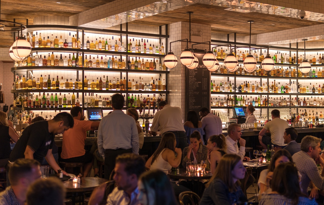 restaurant, bar, design, hospitality